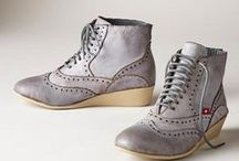 Oxfords / Oxfords, Oxford-like shoes, and shoes that make me feel happy the way that Oxfords do.  They tend to be on the comfortable side, and they are dressy, therefore Oxfords are perfect. / by Stephanie Johnson