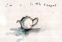 Printables - I ♡ tea / by Tina Wei