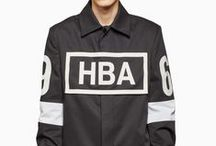 HBA Hood By Air / Hood By Air is synonymous of never stop being creative. Founded in 2006 by Shayne Oliver, HBA is a New York based street label which provocative, audacious style is inspired by NY transgender culture, underground club scene and American streetwear, for a boundary breaking of fashion barricades result and a new meaning of identity. Shop at www.vrients.com / by Vrients