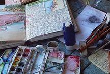 Creativity: Journals & Handmade Books / Visual journals, book art, handmade books, and related creative arts.