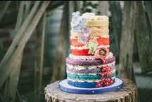 Decorated Cakes / by Liz C.