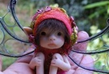 fairies + homes + gardens / by Jacque likes to be crafty