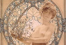 Art of Alphonse Mucha / by Charles Brock
