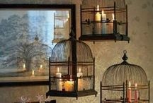 For the birds...NOT / Decorative Birdhouses and Bird cages