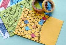 what to do with washi tape / A collection of creative ideas on using washi tape.