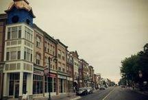 Main Street Markham / The historic main street of the City of Markham, Ontario, Canada.