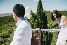 First look / First Look | Wedding photography | Fotografia de boda / by Tendencias de Bodas
