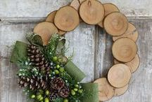 Wreaths: Front Door Love / It's a shocker, I know, but I've converted to being a wreath girl. / by Lauren {TheThinkingCloset}