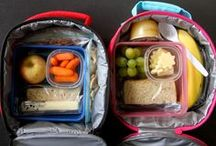 Lunch Box Creations / Ideas for packing a lunch for school.