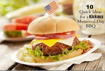 Patriotic BBQ Ideas / Here is a compilation of ideas for your next patriotic backyard BBQ.