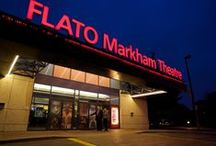 Flato Markham Theatre / Flato Markham Theatre is one of Canada's premier theatre houses serving the GTA and Markham residents. With over 300 live performances each year, the theatre presents a performance calendar that showcases the cultural diversity of the community.