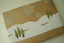 Holiday DIY / Finally going to tackle the handmade Christmas card project?  Here's some ideas to help get the creative juices flowing.