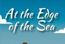 """At the Edge of the Sea /  A Pinterest Board devoted to images related to the characters, places and events from Karen Cox's book, """" At the Edge of the Sea."""""""