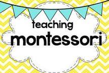 teaching: montessori