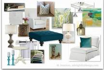 CLIENT | COLLEEN / living room, master bedroom, basement