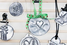Polymer Clay Love / Polymer Clay Jewelry Tutorials / by Saved by love creations