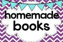 teaching: homemade books