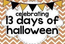 celebrating 13 days of halloween