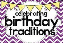 celebrating: birthday traditions