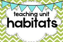 teaching: habitats