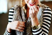 Fur Vest / by The Boston Fashionista