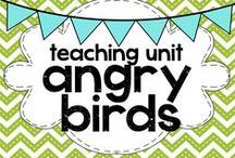 teaching: angry birds / Teaching, creating, and playing ideas with Angry Birds