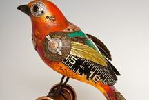 Assemblage/Steampunk Art / by Susan Kent