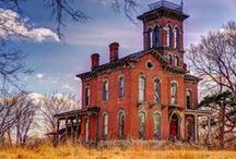 Abandoned/Still Standing / Its a wonder that so many beautiful structures were ever abandoned. / by Susan Kent
