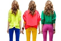 Colorblock / Ideas and inspiration for color-blocking bright clothing... / by The Boston Fashionista