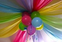 Party Ideas / Birthdays, cake ideas, party decorations  / by Melissa Hines