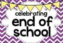 celebrating end of school