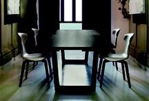 "BOLERO, design Roberto Lazzeroni / Roberto Lazzeroni has designed the ""Bolero"" table. Sleek, light lines for the living room."