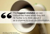 Marketing Quotes / Inspirational quotes about online marketing and business.