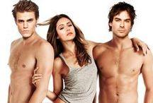 The Vampire Diaries / Vampires.Sexiest men on television.