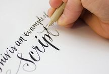 Calligraphy: The Lost Art / by Cassandra Swenson
