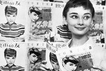 The Lovely Audrey / An amazing actress and fashion icon with a heart of gold. The queen of prim and proper- Audrey Hepburn.  / by Méline Briciní