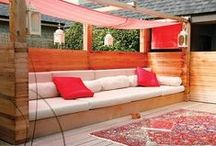 Outdoor / Back Yard / Decorations / furniture for outdoors  / by Méline Briciní