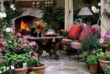 outdoor decor / by Angela Johnson
