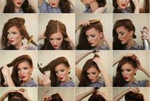 Fashion - Girly Hair-dos and Gettin' Purty