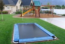 kid outdoor spaces / by Robin McDonald