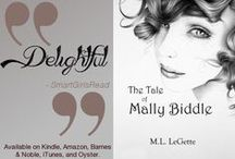Books I Wrote / Novels written by me. They're available on Amazon, Kindle, Barnes and Noble, iTunes, and Smashwords.  / by M.L. (Melissa) LeGette