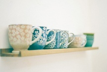 Cabinet  / Cups/Pottery / by savanna scarlett
