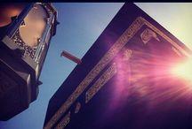 "Kaaba | الكعبة ✯MasterCollection✯ / ✯MasterCollection✯ 1st Board on Pinterest Dedicated to Kaaba. The Kaaba (Arabic: الكعبة al-Kaʿbah IPA: [ælˈkæʕbɐ], ""The Cube""), also known as al-Kaʿbah l-Mušarrafah (الكعبة المشرفة; ""The Noble Cube""), al-Baytu l-ʿAtīq (البيت العتيق; ""The Primordial House""), or al-Baytu l-Ḥarām (البيت الحرام; ""The Sacred/Forbidden House"") is a cuboid building in Mecca, Saudi Arabia, and is the most sacred site in Islam.[1] The building has a mosque (""Masjid"") built around it, the Masjid ... (Wiki) / by Mohammad Haidar (محمد حيدر)"