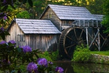 "Barns, Mills and Homesteads / ""One day in the country  Is worth a month in town""  ― Christina Rossetti / by Tammra Salisbury"