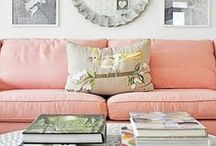 Color At Home / Gorgeous use of colors in the home!
