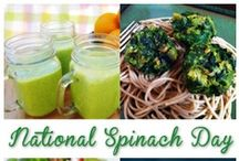 Spinach Recipes / National Spinach Month is October. Sub ingredients where needed for an even healthier meal. Get your Free Feng Shui Gift at www.DeniseDivineD.com / by Denise DivineD Spiritual Adviser