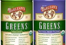 Barlean's Greens / We offer Organic Greens, Organic Berry Greens, Strawberry-Kiwi Superfruit Greens, and Chocolate Silk Greens for the discerning palate! Non-GMO and Gluten-free! Organic Greens.  Available for purchase online at http://www.barleans.com