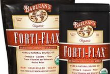 Barlean's Forti-Flax / Forti-flax ground flaxseed is a cornucopia of Omega-3 fatty acids, fiber, amino acids and trace minerals. Certified USDA Organic, Non-GMO verified and gluten-free! Available in a 16 oz. cannister, a 14 oz. resealable pouch and a 28 oz. resealable pouch. Add to oatmeal, cereal, protein shakes or use in baking!  Available for purchase online at http://www.barleans.com