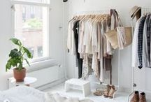 Organized & Beautiful Closets / Organized storage spaces offer so much clarity and ease of access, it's worth the work!