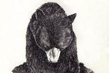 karhu / finnish: karhu  english: a bear.   / by Anna Kokki